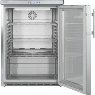 LIEBHERR professionele koelkast onderbouw rvs FKUv1663-24