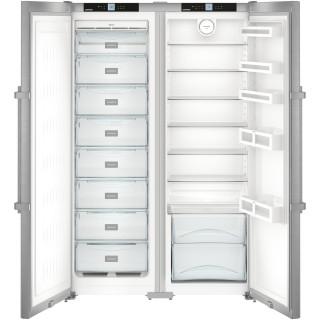 LIEBHERR koelkast side-by-side rvs SBSef7242-22