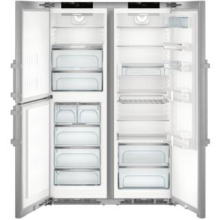 LIEBHERR koelkast side-by-side rvs SBSes8483-21