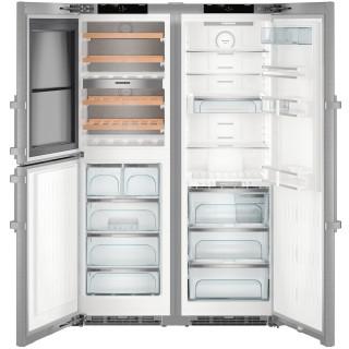 LIEBHERR koelkast side-by-side rvs SBSes8496-21