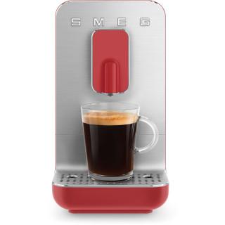 SMEG koffiemachine mat rood BCC01RDMEU
