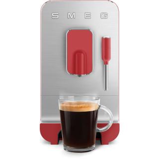 SMEG koffiemachine mat rood BCC02RDMEU