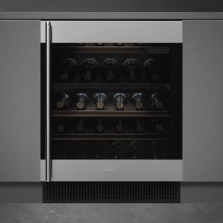 SMEG wijnkoelkast onderbouw CVI338RX3
