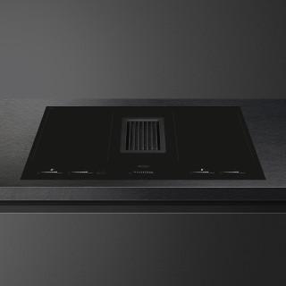 SMEG inductie kookplaat met afzuiging inbouw HOBD682D1