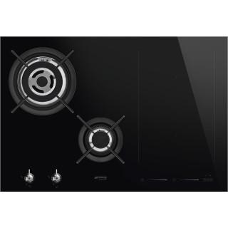 SMEG kookplaat gas/inductie inbouw PM3721WLDNLK