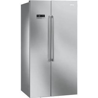 SMEG side-by-side koelkast rvs-look SBS63XDF