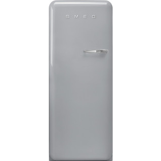 SMEG koelkast zilver metallic FAB28LSV5