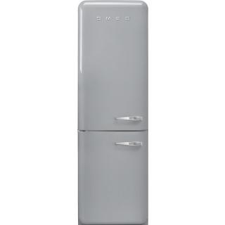 SMEG koelkast zilver metallic FAB32LSV5