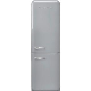 SMEG koelkast zilver metallic FAB32RSV5
