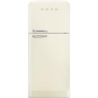 SMEG koelkast crème FAB50RCR5