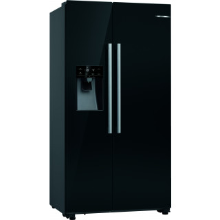 BOSCH side-by-side koelkast zwart KAD93VBFP