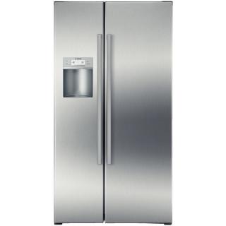 BOSCH koelkast side-by-side rvs KAD62P91