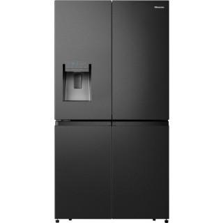 HISENSE side-by-side koelkast blacksteel-look RQ760N4AFF