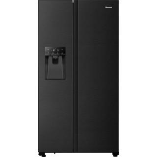 HISENSE koelkast blacksteel-look RS694N4TFE
