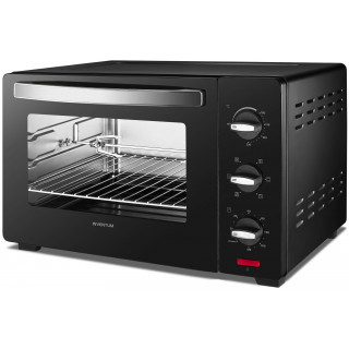 INVENTUM oven vrijstaand zwart OV307B