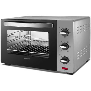 INVENTUM oven vrijstaand zilver OV307S