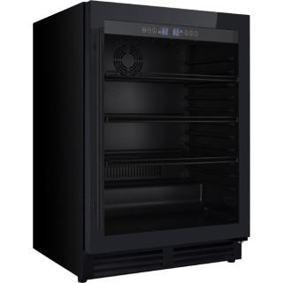 IOMABE koelkast onderbouw zwart IOB150BB-BG