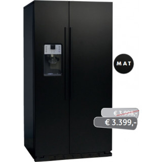 ioMabe koelkast mat-zwart ORGS2DFF 8BM-BH
