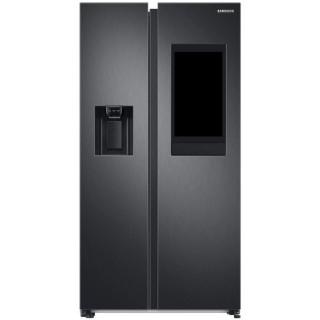 SAMSUNG side-by-side koelkast blacksteel RS6HA8891B1