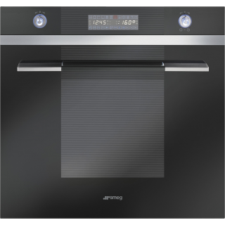 SMEG oven inbouw zwart SC112N8