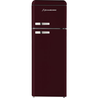 SCHAUB LORENZ koelkast bordeaux rood DTF15055R-8090