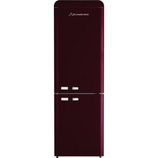 SCHAUB LORENZ koelkast bordeaux rood DBF19060R-8168