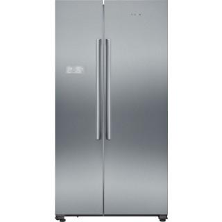 SIEMENS side-by-side koelkast rvs KA93NVIFP