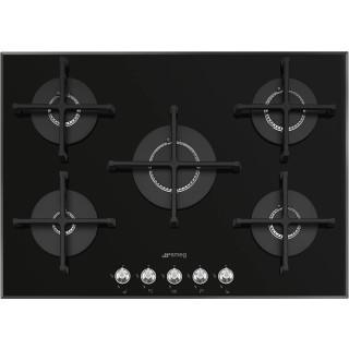 SMEG kookplaat gas-op-glas inbouw PV175N2NLK