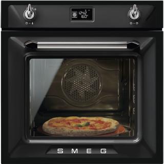 SMEG oven inbouw zwart SF6922NPZE1