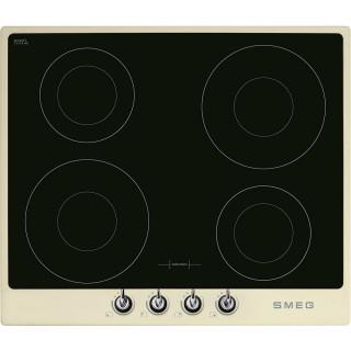 SMEG kookplaat inductie crème SI964PM
