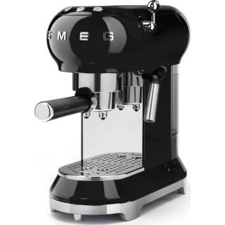 SMEG koffiemachine zwart ECF01BLEU