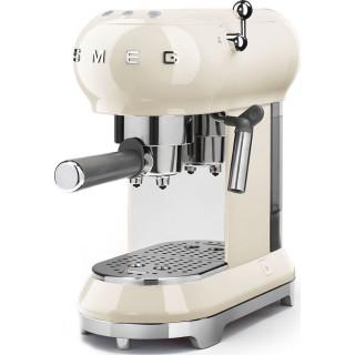 SMEG koffiemachine crème ECF01CREU