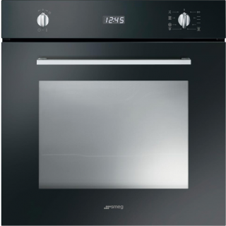 SMEG oven inbouw zwart SF485N