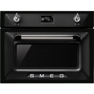 SMEG oven met magnetron zwart SF4920MCN1