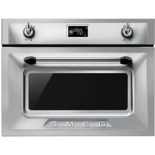 SMEG oven met magnetron rvs SF4920MCX1