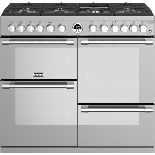 STOVES fornuis Sterling S1000 DF Deluxe rvs