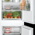 Bosch KIN86NSF0 inbouw koelkast - nis 178 cm. - deur-op-deur