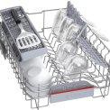 Bosch SRI4HKS53E smalle inbouw vaatwasser - 45 cm. breed - half geint