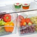 Bij de CNP4056 is gekozen voor twee separate groentenlades