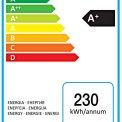 De Liebherr CUP2221 is zuinig en beschikt over een energieklasse A+ label