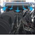 Whirlpool WFO3O41PLX vrijstaande vaatwasser - roestvrijstaal