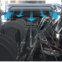 Whirlpool WIO 3T141 PES inbouw vaatwasser met besteklade - 41 dB
