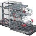 Whirlpool WIS 1150 PEL inbouw vaatwasser met besteklade - 41 dB