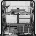 Zanussi ZDSN653X2 inbouw vaatwasser - half geïntegreerd