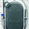 De achterzijde van de Aeg L76695NFL wasmachine