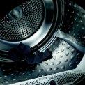 De trommel van de Aeg T75382NAH warmtepomp droger heeft een capacitiet van 8 kg