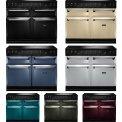 De Aga Masterchef Deluxe 110 fornuis zijn in meerdere kleuren leverbaar, gas en inductie