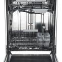 Foto van de binnenzijde van de Asko D5436 XL VS vrijstaande vaatwasser