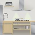 De ASKO side-by-side koelkast is perfect te combineren met de andere apparaten uit de Asko Pro Series