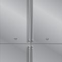 ASKO side-by-side koelkast - roestvrijstaal
